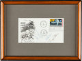 "Autographs:Celebrities, Apollo 11 Crew-Signed ""First Man on the Moon"" First Day Cover Originally from the Personal Collection of President Gerald R. F..."