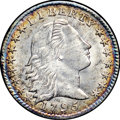 Early Half Dimes, 1795 H10C MS64+ NGC. CAC. V-5, LM-8, R.3....