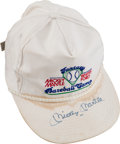 Baseball Collectibles:Hats, 1990's Mickey Mantle Signed Cap....
