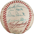 Autographs:Baseballs, 1956 National League All-Star Team Signed Baseball from The Stan Musial Collection....