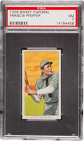 Baseball Cards:Singles (Pre-1930), 1909-11 T206 Sweet Caporal Francis Pfeffer PSA NM 7. ...