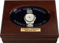 Baseball Collectibles:Others, 1999 David Cone Perfect Game Presentational Wristwatch to YankeesStaffer....