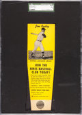 Baseball Cards:Singles (1950-1959), 1958 Hires Root Beer Test Jim Busby SGC 84 NM 7 - None Higher! ...