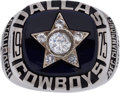 Football Collectibles:Others, 1975 Roger Staubach Dallas Cowboys Super Bowl X Salesman's Sample Ring. ...