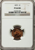 Proof Indian Cents, 1879 1C PR66 Red NGC....