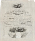 Autographs:U.S. Presidents, Milliard Fillmore Naval Appointment Signed... (Total: 8 Items)