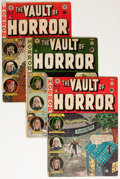 Golden Age (1938-1955):Horror, Vault of Horror Group (EC, 1951-55) Condition: Average ApparentGD/VG.... (Total: 4 Comic Books)