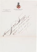 Autographs:Celebrities, William Joseph Simmons Signature....