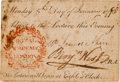 "Autographs:Artists, Benjamin West Lecture Pass Signed as President of the Royal Academy in London ""Benj. West.""..."