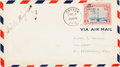 """Autographs:Inventors, Orville Wright Air Mail Cover Signed """"Orville Wright.""""..."""