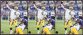 Football Collectibles:Photos, Brett Favre Signed Photographs Lot of 3 - Record Breaking 421 TDImage. ...