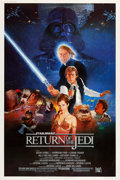 """Movie Posters:Science Fiction, Return of the Jedi (20th Century Fox, 1983). Posters (2) (40"""" X 60"""") Styles A & B.. ..."""