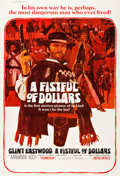 "Movie Posters:Western, A Fistful of Dollars (United Artists, 1967). Poster (40"" X 60"")....."