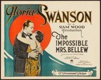 """The Impossible Mrs. Bellew (Paramount, 1922). Title Lobby Card (11"""" X 14"""")"""