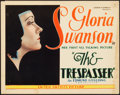 """Movie Posters:Drama, The Trespasser (United Artists, 1929). Title Lobby Card (11"""" X14"""").. ..."""