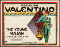 """The Young Rajah (Paramount, 1922). Title Lobby Card (11"""" X 14"""")"""