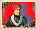 "Movie Posters:Drama, The Young Rajah (Paramount, 1922). Lobby Card (11"" X 14"").. ..."