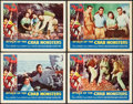"Movie Posters:Science Fiction, Attack of the Crab Monsters (Allied Artists, 1957). Lobby Card Setof 4 (11"" X 14"").. ... (Total: 4 Items)"