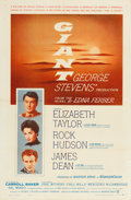 """Movie Posters:Drama, Giant (Warner Brothers, 1956). One Sheet (27"""" X 41"""").. ..."""
