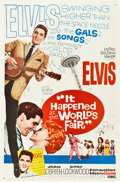 "Movie Posters:Elvis Presley, It Happened at the World's Fair (MGM, 1963). One Sheet (27"" X41"").. ..."
