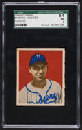 Baseball Cards:Singles (1940-1949), 1949 Bowman Gil Hodges #100 SGC 84 NM 7....