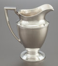 Silver Holloware, American:Pitchers, A TIFFANY & CO. SILVER WATER PITCHER. Tiffany & Co., NewYork, New York, circa 1911-1912. Marks: TIFFANY & CO., 18181MAKE...