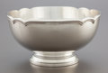Silver Holloware, American:Bowls, A REED & BARTON SILVER FOOTED CENTER BOWL. Reed & Barton,Taunton, Massachusetts, 1952. Marks: REED & BARTON,STERLING, ...