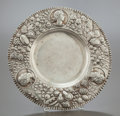 Silver Holloware, British:Holloware, A JOHN WAKELIN & WILLIAM TAYLOR GEORGE III SILVER REPOUSSÉ DISH. John Wakelin & William Taylor, London, England, circa 181...
