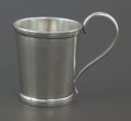 Silver Holloware, American:Cups, A BELL & BROTHERS COIN SILVER CUP . Bell & Brothers, SanAntonio, Texas, circa 1865. Marks: BELL & BRO'S, SANANTONIO, TE...