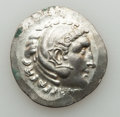 Ancients:Greek, Ancients: AEOLIS. Temnus. Ca. 188-170 BC. AR tetradrachm (16.61gm)....
