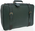 Luxury Accessories:Travel/Trunks, Louis Vuitton Hunter Green Taiga Leather Travel Bag. ...