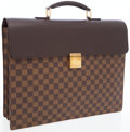 Luxury Accessories:Bags, Louis Vuitton Damier Ebene Altona GM Briefcase Bag. ...