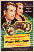 "Movie Posters:Hitchcock, Rear Window (Paramount, 1954). Poster (40"" X 60"") Style Z.. ..."