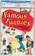 Platinum Age (1897-1937):Miscellaneous, Famous Funnies: A Carnival of Comics #nn With Original MailingEnvelope (Eastern Color, 1933) CGC FN 6.0 Off-white pages....(Total: 2 Items)