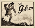 "Movie Posters:Fantasy, The Golem (Paramount, 1920). Title Lobby Card (11"" X 14"").. ..."