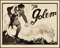 "The Golem (Paramount, 1920). Title Lobby Card (11"" X 14"")"