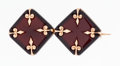 Estate Jewelry:Brooches - Pins, Victorian Hardstone, Rose Gold Brooch. ...