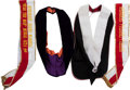 Baseball Collectibles:Others, Stan Musial Worn Sashes Lot of 4....