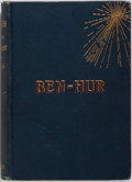 Books:Literature Pre-1900, Lew Wallace. Ben-Hur. Harper & Brothers, 1880. Lateredition. Publisher's cloth with light rubbing and toning. Owner...