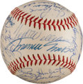 Autographs:Baseballs, Circa 1960 American League Greats Signed Baseball from The StanMusial Collection....