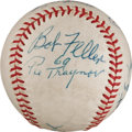Autographs:Baseballs, 1969 Hall of Fame Induction Multi-Signed Baseball from The StanMusial Collection....