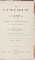 Books:Natural History Books & Prints, Gilbert White. The Natural History of Selborne. London: Bohn, 1851. Hand-colored plates. Contemporary half leath...