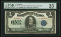 Canadian Currency: , DC-25c $1 1923. ...