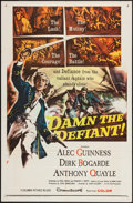 "Movie Posters:Adventure, Damn the Defiant! and Other Lot (Columbia, 1962). One Sheets (2)(27"" X 41""). Adventure.. ... (Total: 2 Items)"
