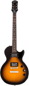Musical Instruments:Electric Guitars, 2011 Epiphone Les Paul Special II Sunburst Solid Body ElectricGuitar, Serial # 1112131250. ...