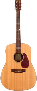 Musical Instruments:Acoustic Guitars, 1998 Martin DM Natural Acoustic Guitar, Serial # 643317. ...