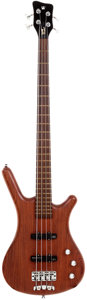 Musical Instruments:Bass Guitars, 2002 Warwick Corvette Natural Bass Guitar, Serial # F-093197-02....