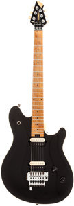 Musical Instruments:Electric Guitars, 1996 Peavey EVH Wolfgang Black Solid Body Electric Guitar, Serial #91005504. ...