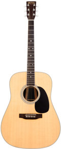 Musical Instruments:Acoustic Guitars, 1999 Martin D-35 Natural Acoustic Guitar, Serial # 710526. ...