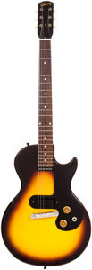 Musical Instruments:Electric Guitars, 1960 Gibson Melody Maker Sunburst Solid Body Electric Guitar,Serial # 0 5515....